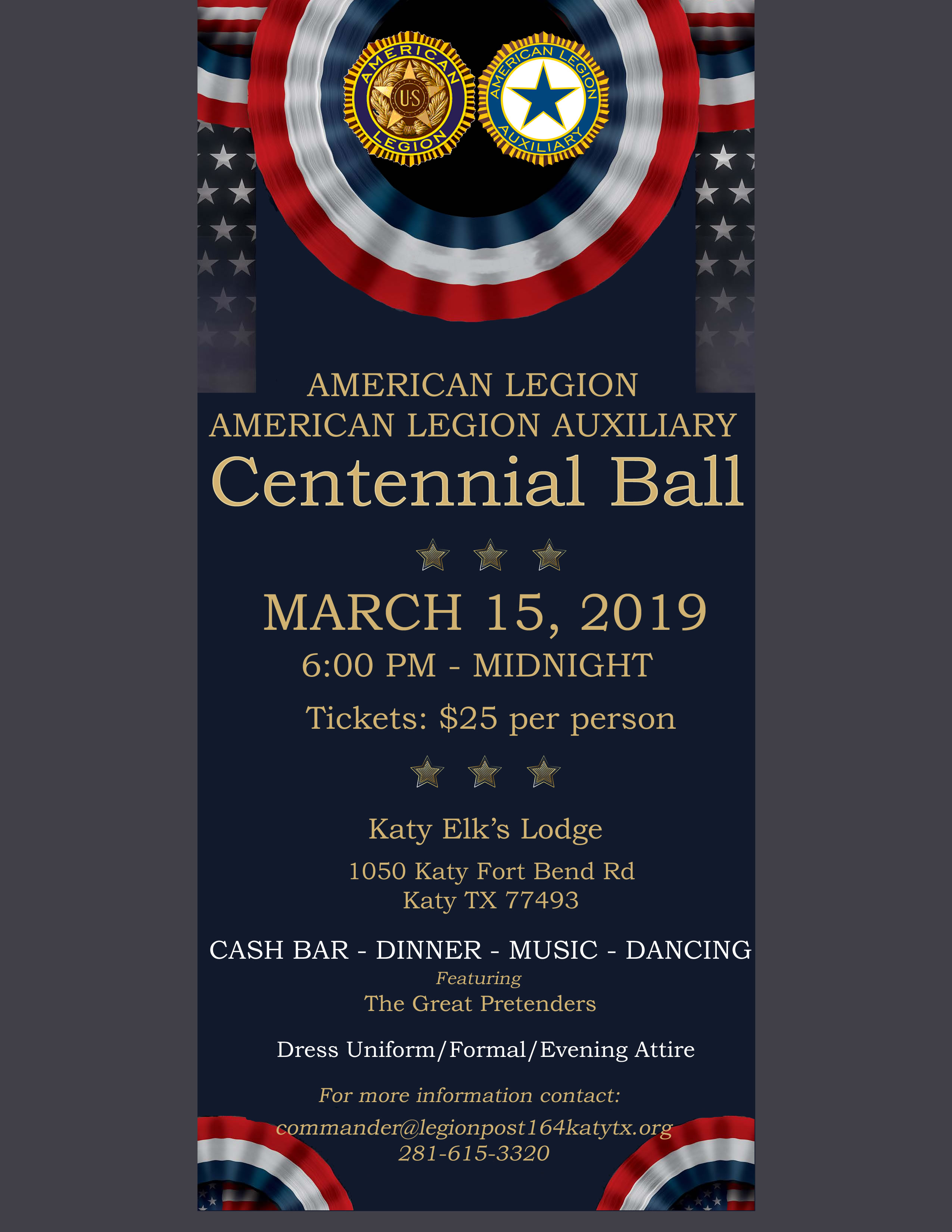 Centennial Ball March 15, 2019