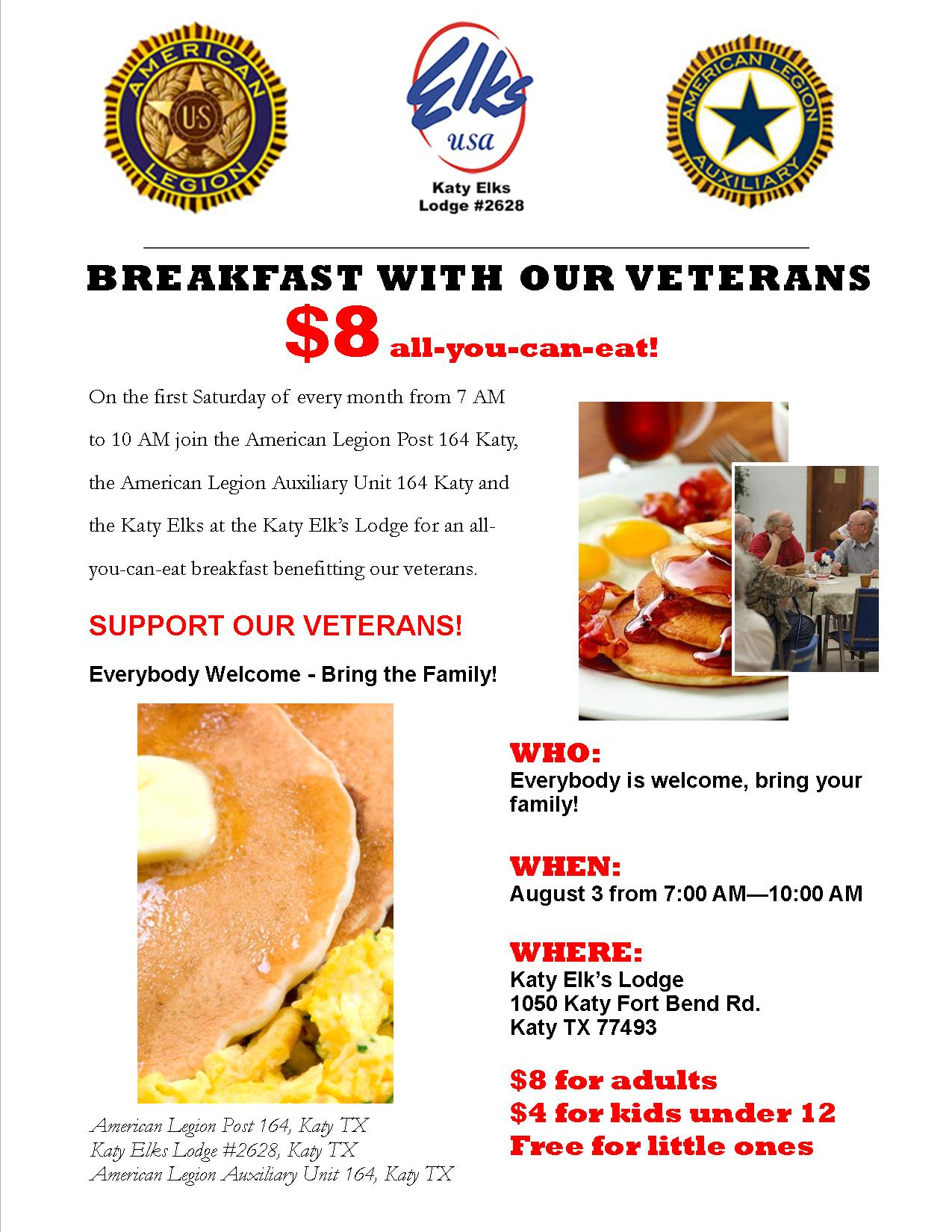 Brekfast with our Veterans