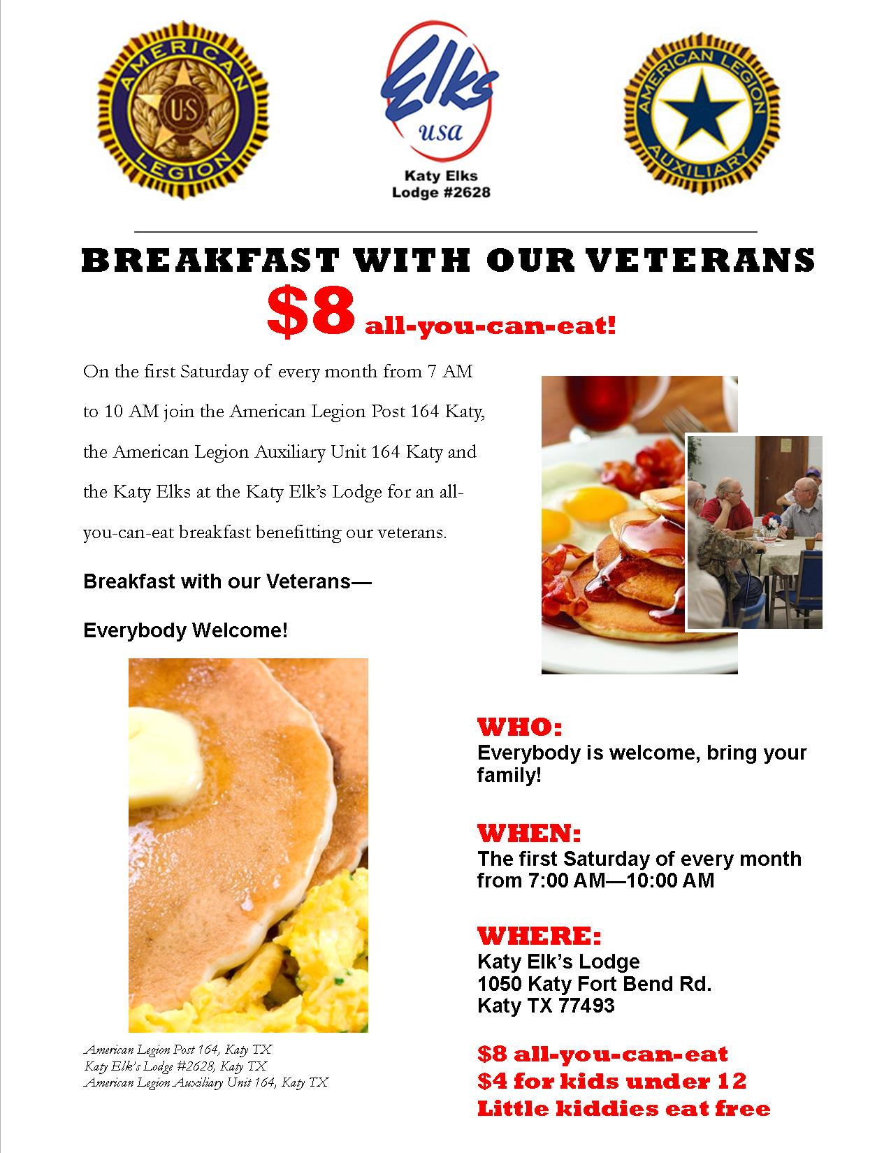 Breakfast with a Veteran